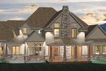 Architectural House Design - Craftsman Exterior - Rear Elevation Plan #937-2
