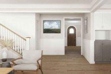 Dream House Plan - Tudor Interior - Entry Plan #1079-3