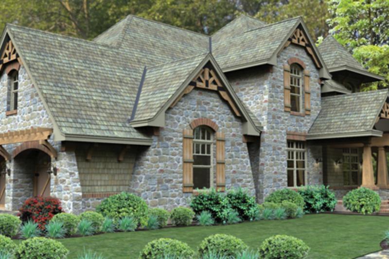 Craftsman Exterior - Other Elevation Plan #120-247 - Houseplans.com