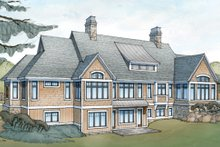 Country Exterior - Rear Elevation Plan #928-264