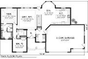 Ranch Style House Plan - 2 Beds 2 Baths 1645 Sq/Ft Plan #70-1046 Floor Plan - Main Floor Plan