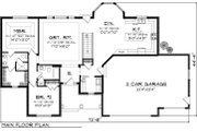Ranch Style House Plan - 2 Beds 2 Baths 1645 Sq/Ft Plan #70-1046