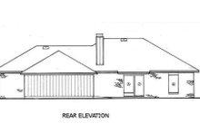 Dream House Plan - European Exterior - Rear Elevation Plan #45-124