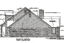 Dream House Plan - Traditional Exterior - Other Elevation Plan #310-626