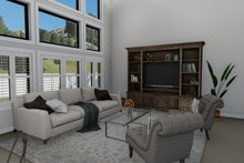 Traditional Interior - Family Room Plan #1060-25