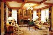 European Style House Plan - 4 Beds 4.5 Baths 4287 Sq/Ft Plan #429-39 Photo