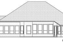 Dream House Plan - European Exterior - Rear Elevation Plan #84-597