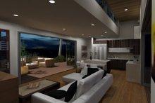 Modern Interior - Family Room Plan #484-5
