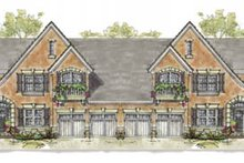 Home Plan Design - European Exterior - Front Elevation Plan #20-1277