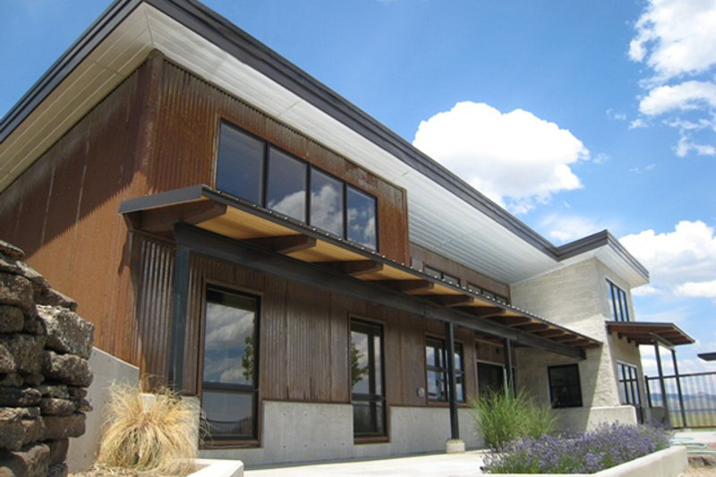 House Plan Design - Modern Exterior - Front Elevation Plan #451-18