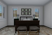 Architectural House Design - Craftsman Interior - Master Bedroom Plan #1060-70