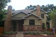Craftsman Style House Plan - 3 Beds 2.5 Baths 1346 Sq/Ft Plan #120-170 Exterior - Front Elevation