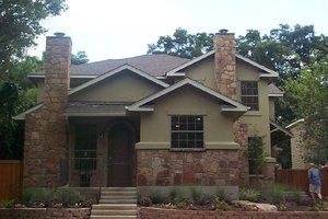 Craftsman Exterior - Front Elevation Plan #120-170