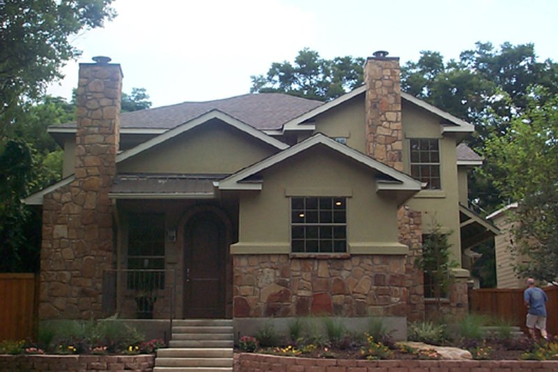 Dream House Plan - Craftsman Exterior - Front Elevation Plan #120-170