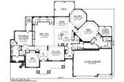 Ranch Style House Plan - 2 Beds 3 Baths 3418 Sq/Ft Plan #70-1232 Floor Plan - Main Floor Plan