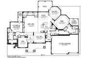 Ranch Style House Plan - 2 Beds 3 Baths 3418 Sq/Ft Plan #70-1232 Floor Plan - Main Floor Plan