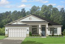 House Plan Design - Traditional Exterior - Front Elevation Plan #1058-117