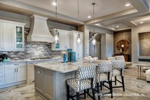 Mediterranean Interior - Kitchen Plan #930-449