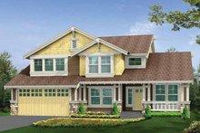 Craftsman Exterior - Front Elevation Plan #132-294