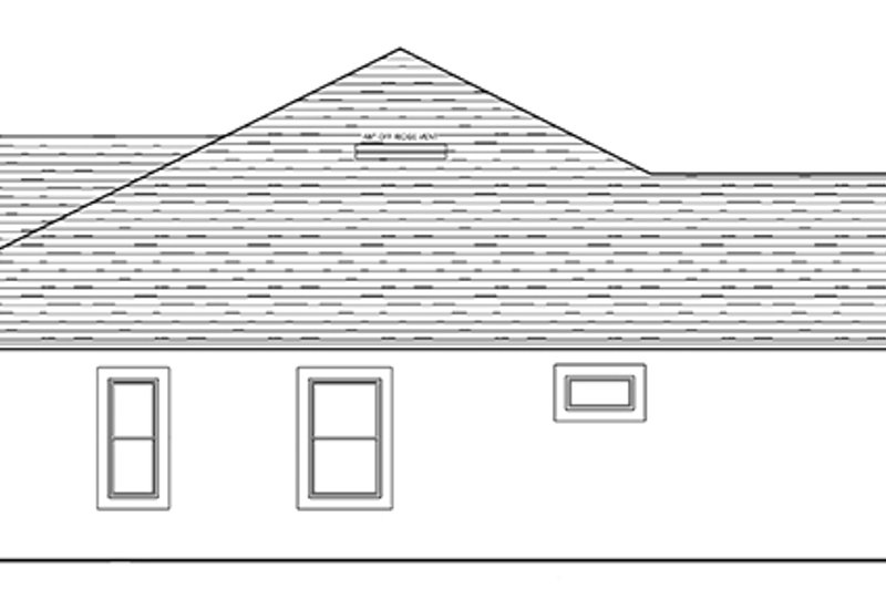 Colonial Exterior - Other Elevation Plan #1058-124 - Houseplans.com
