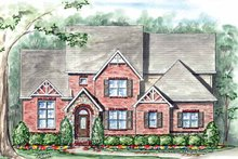 Traditional Exterior - Front Elevation Plan #54-346