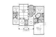 Craftsman Style House Plan - 3 Beds 2 Baths 2200 Sq/Ft Plan #417-797 Floor Plan - Main Floor Plan