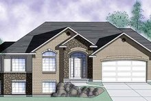 Traditional Exterior - Front Elevation Plan #945-12