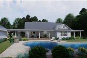 Farmhouse Style House Plan - 3 Beds 2 Baths 2748 Sq/Ft Plan #120-254 Exterior - Rear Elevation
