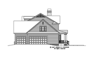 Country Style House Plan - 5 Beds 4.5 Baths 3215 Sq/Ft Plan #929-831 Exterior - Other Elevation