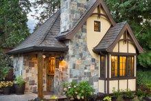 Architectural House Design - Storybook tudor cottage floor plan