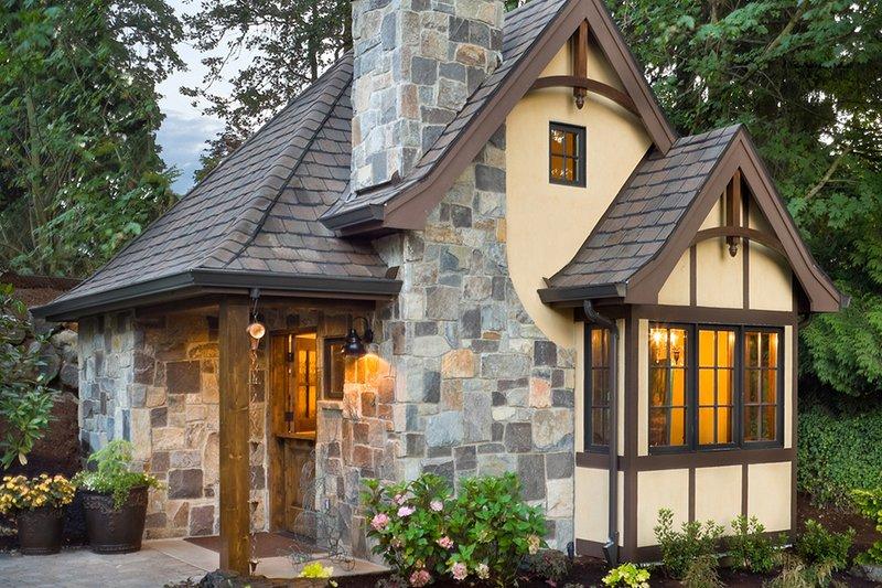 Dream House Plan - Storybook tudor cottage floor plan
