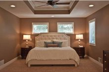 House Plan Design - Tudor Interior - Master Bedroom Plan #928-234
