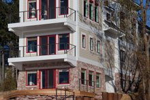 Home Plan - Contemporary Exterior - Rear Elevation Plan #928-249