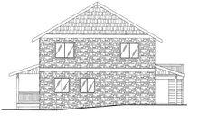 Contemporary Exterior - Rear Elevation Plan #117-839