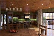 Prairie Style House Plan - 4 Beds 4.5 Baths 4520 Sq/Ft Plan #942-37 Interior - Kitchen