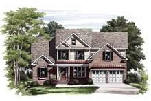 Home Plan - Colonial Exterior - Front Elevation Plan #927-724