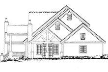 Home Plan - Craftsman Exterior - Other Elevation Plan #942-12