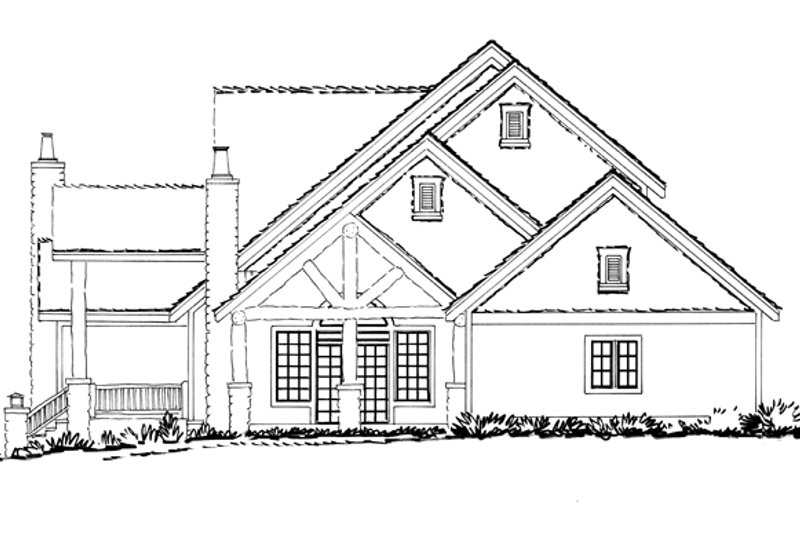 Craftsman Exterior - Other Elevation Plan #942-12 - Houseplans.com