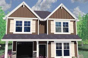 House Plan Design - Prairie Exterior - Front Elevation Plan #509-126