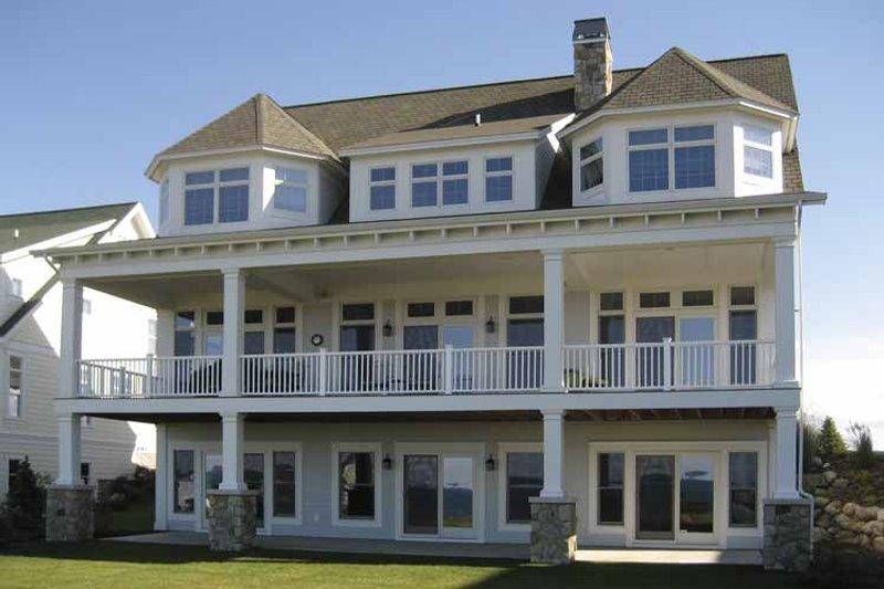 Craftsman Exterior - Rear Elevation Plan #928-60 - Houseplans.com