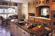 House Plan Design - European Interior - Kitchen Plan #928-20