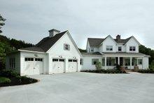 Home Plan - Farmhouse Exterior - Front Elevation Plan #928-309