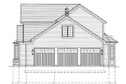 Country Style House Plan - 4 Beds 3.5 Baths 2544 Sq/Ft Plan #46-428 Exterior - Other Elevation