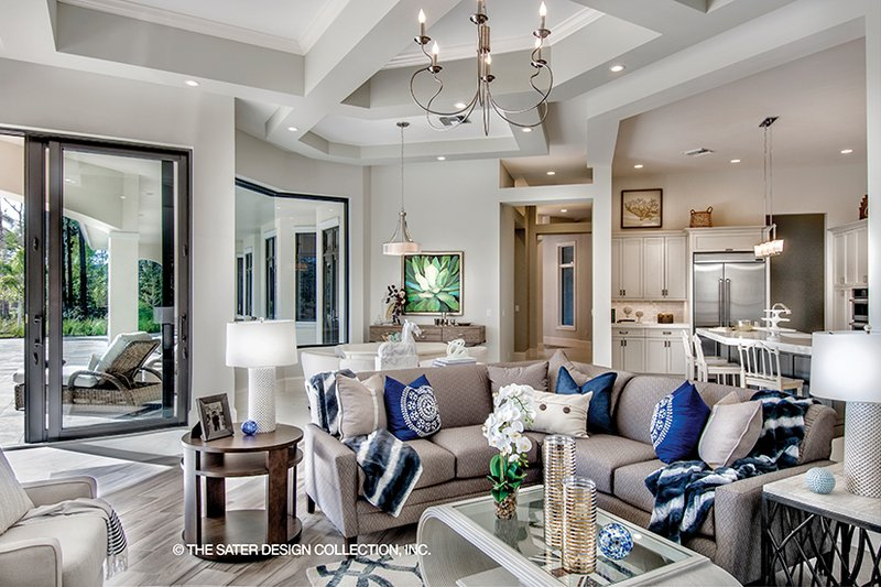 Mediterranean Interior - Other Plan #930-473 - Houseplans.com