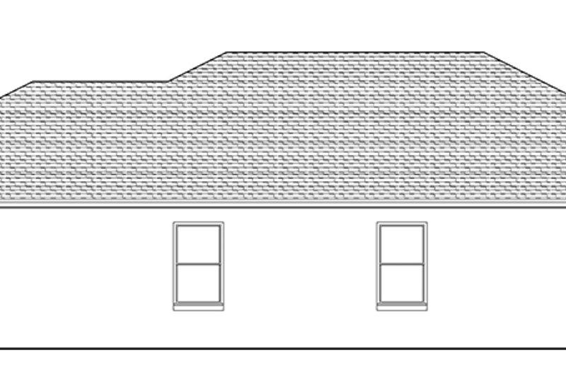 Adobe / Southwestern Exterior - Other Elevation Plan #1058-88 - Houseplans.com