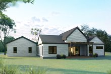 Architectural House Design - Ranch Exterior - Front Elevation Plan #1075-1