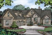 European Style House Plan - 3 Beds 2 Baths 1964 Sq/Ft Plan #929-984 Exterior - Front Elevation