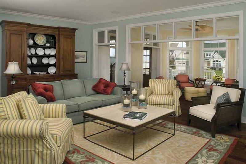 Country Interior - Family Room Plan #928-98 - Houseplans.com