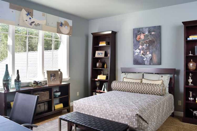 Traditional Interior - Bedroom Plan #48-877 - Houseplans.com