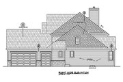 Traditional Style House Plan - 4 Beds 2.5 Baths 2721 Sq/Ft Plan #20-2287 Exterior - Other Elevation
